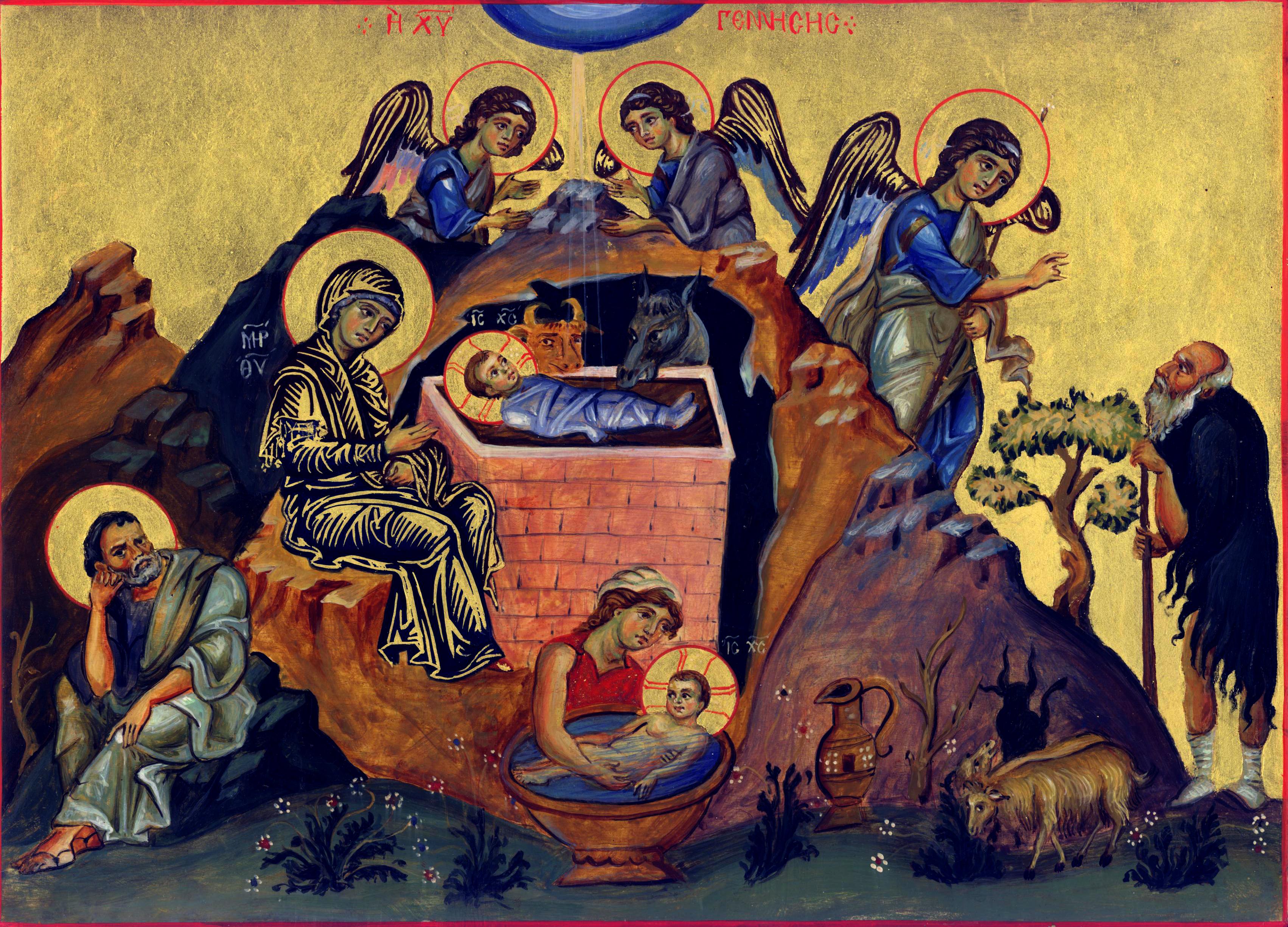 Christus natus est ex Maria Virgine!