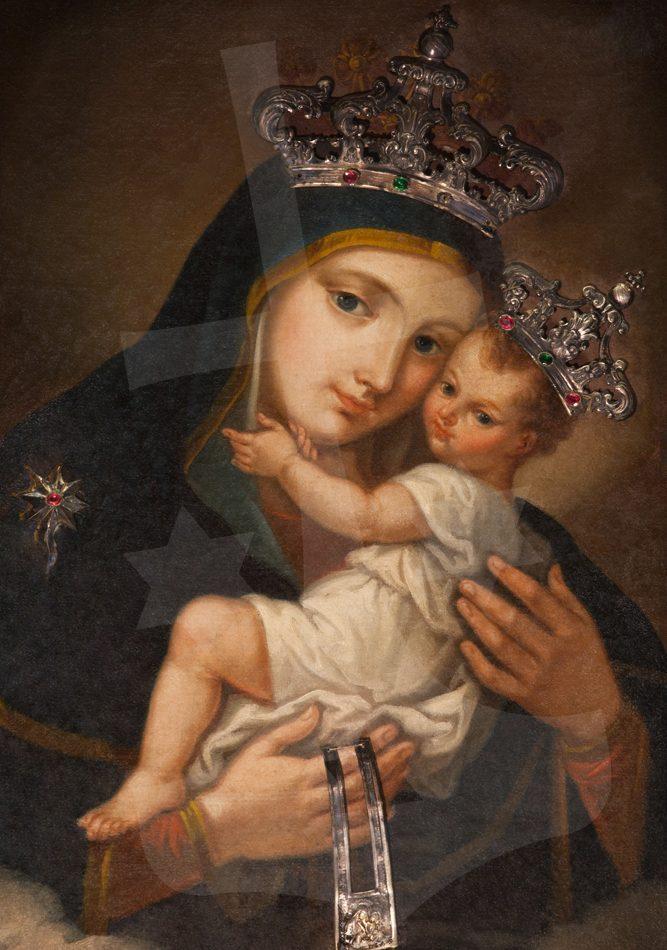 Sf Fc Maria de pe Muntele Carmel